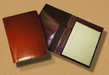 Leather Pad Portfolios