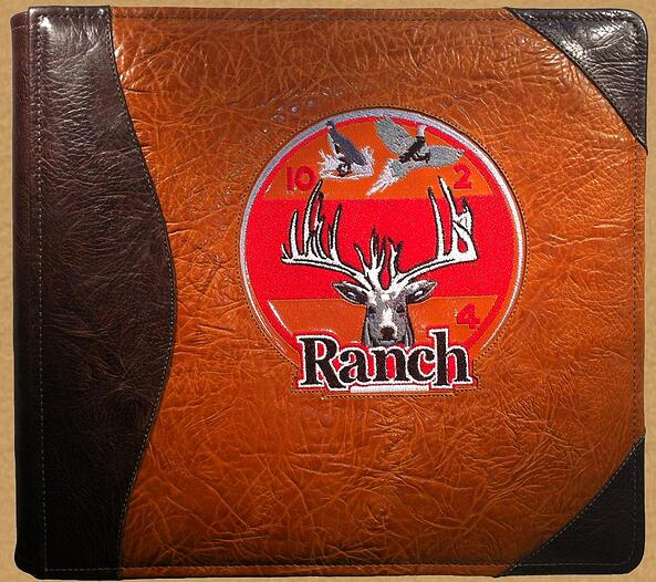leather ranch guest book