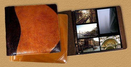 Personalized Custom Leather Photo Albums 12 X 12