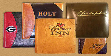 custom personalized leather albums