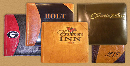 custom hand made albums journals and portfolios