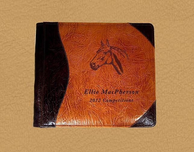 Horse Photo Album Equestrian