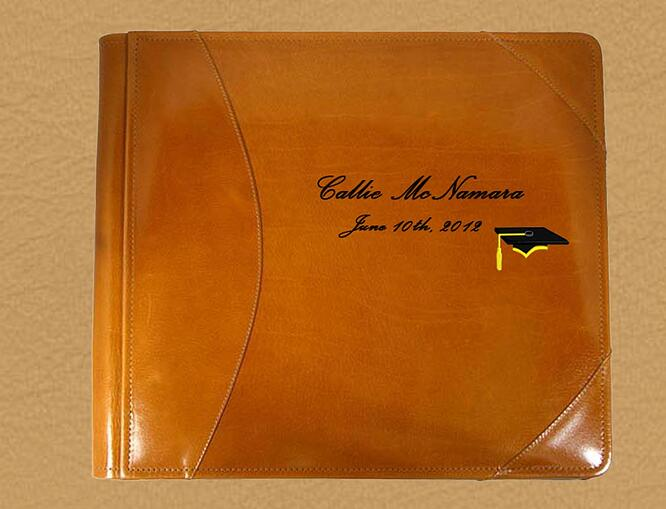 personalized graduation album
