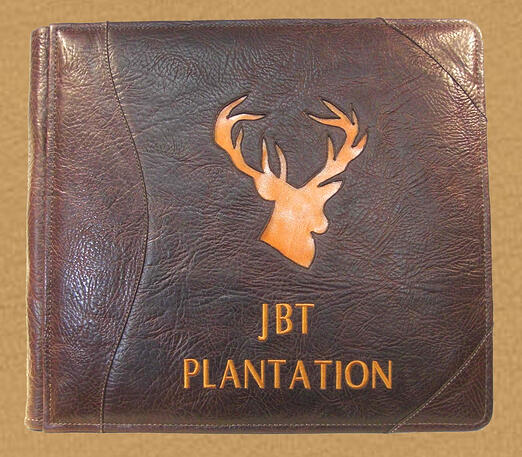 HUNTER'S LEATHER GUEST BOOK