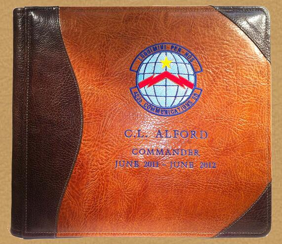 Leather Military Albums
