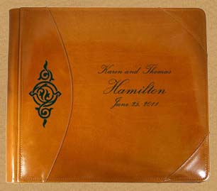 custom wedding guest books