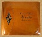custom wedding guest books