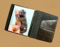 handmade leather letter pad