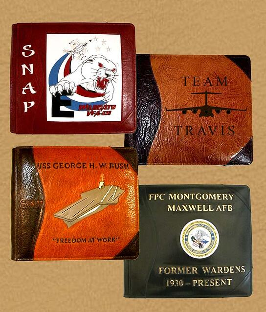 military guest books albums