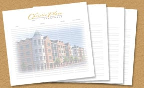 personalized and custom guest book pages