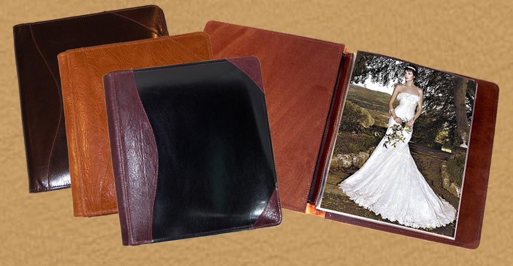 custom & personalized photo albums and guest books