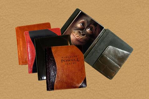 leather presentation portfolio albums
