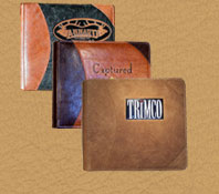 Powell Leather handmade Custom Albums Journals and Guest Books