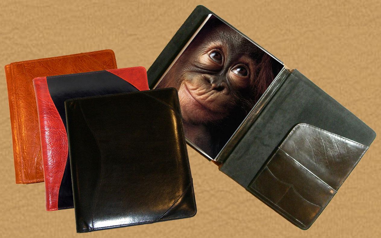 leather presentation portfolio