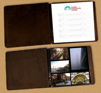 Leather Photo Guest Book