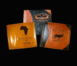 custom safari hunting photo albums