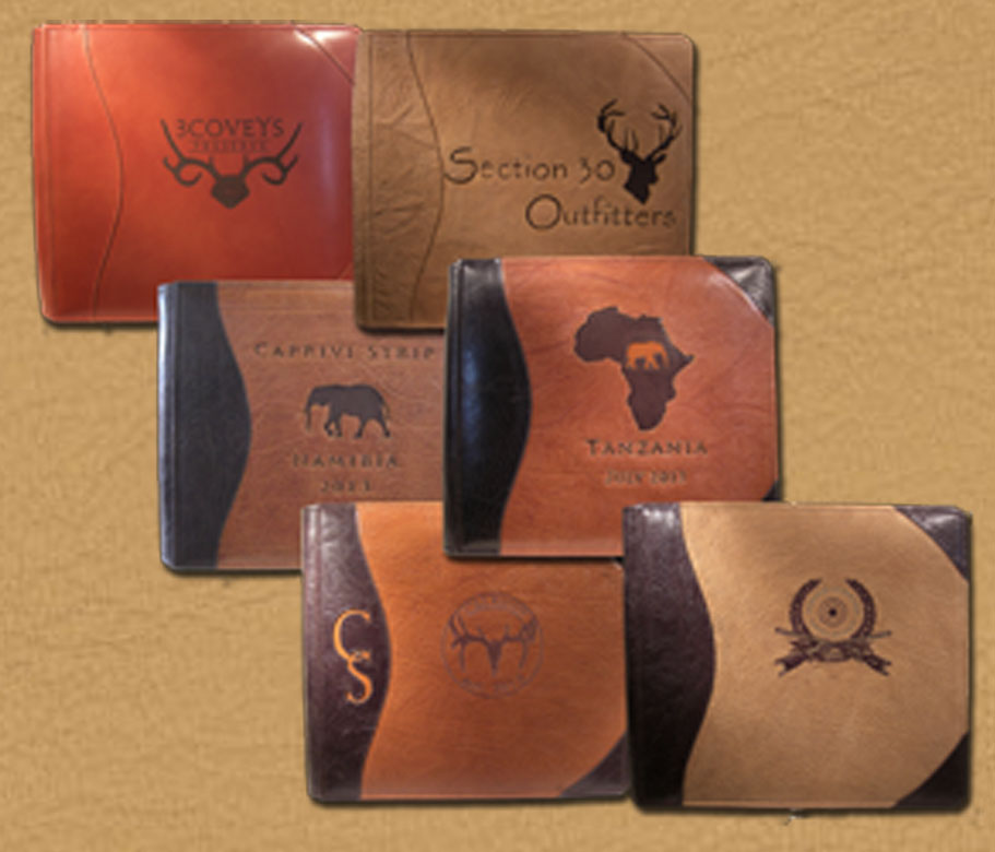 Personalized Safari Photo Albums